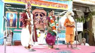 Drama at Tiruvalam Temple Part 1