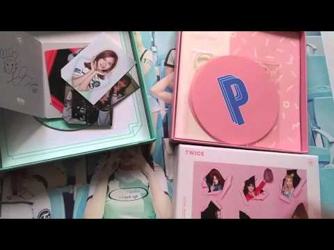 TWICE 2nd mini album Page Two [CHEER UP] album unboxing preview