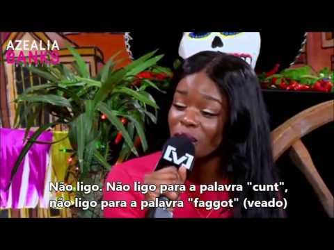Entrevista de Azealia Banks para Channel V - Legendado PT-BR