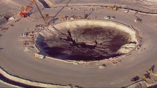 Sinkhole swallows 215 million gallons of radioactive water