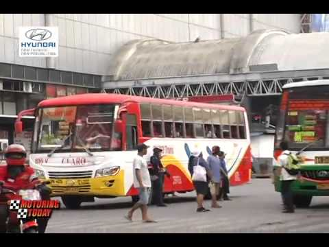 Motoring News on provincial bus terminals adding to traffic congestion
