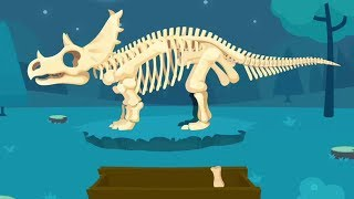 Dinosaur Puzzle Game - Games For Baby Kids or Toddlers - Jurassic Dig