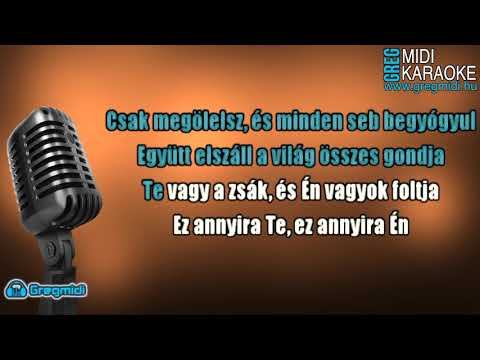 Kasza Tibi feat. Dér Heni - Ez annyira Te karaoke demó