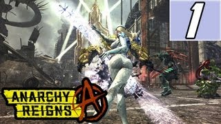 Anarchy Reigns Walkthrough Part 1 Let's Play Gameplay