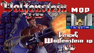 Extreme Wolfenstein 3D V4 Excelente MOD!! | Primeros Niveles Gameplay