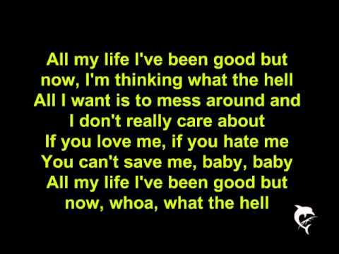 Avril Lavigne - What The Hell [lyrics] [hq] video