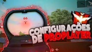 A MELHOR CONFIGURAÇÃO PRA CELULAR NO FREE FIRE!!