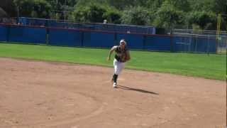 Natalie Winokur Softball Skills Video