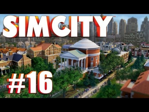Let's Multiplay SimCity (2013) - Ep. 16: PETROLEUM HEADQUARTERS