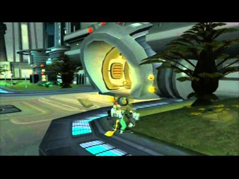 Ratchet & Clank 2 Going Commando HD Version Let's Play Part 8 Canal City, Planet Notak