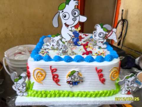 Tortas para fiestas de toda clase youtube for Decoracion casa con ninos