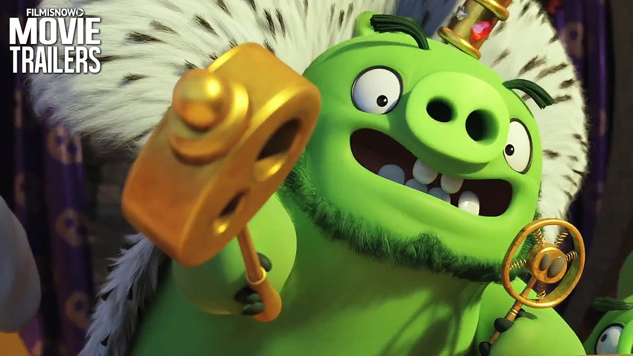 It's time to get Angry in the final trailer for THE ANGRY BIRDS MOVIE [HD]