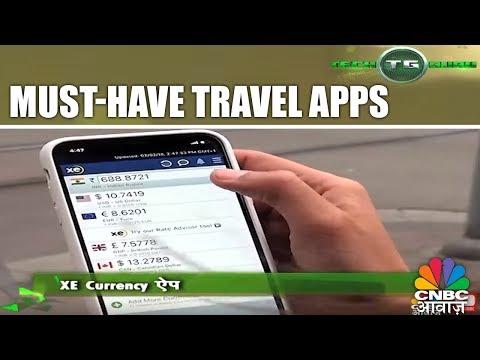 Must-Have Travel Apps | Tech Guru In Switzerland | Travel Special | CNBC Awaaz