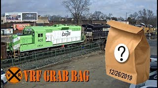 "VIRTUAL RAILFAN ""GRAB BAG""!  12/26/2019"