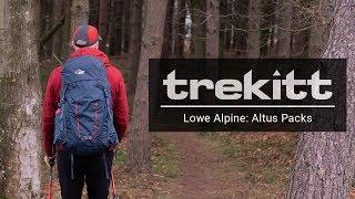 Inside Look: The NEW Lowe Alpine Altus Packs