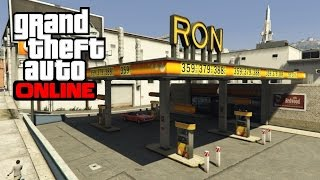GTA 5 Online - Ron Gas Station Wall Breach