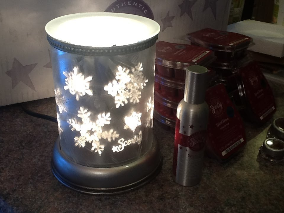 Scentsy December 2013 Scent Amp Warmer Of The Month Silver