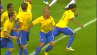 Brasil 0 x 1 França pelas quartas de final da Copa do Mundo de 2006