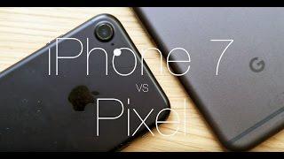 Apple iPhone 7 vs Google Pixel - CAMERA TEST
