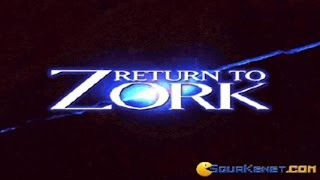 Return To Zork gameplay (PC Game, 1993)