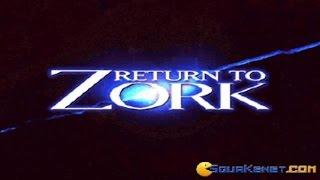 Return To Zork gameplay (PC Game, 1993)