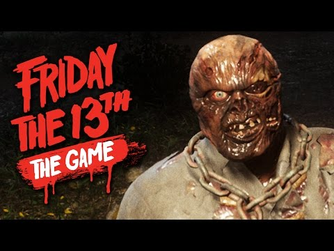 JASON UNMASKED - Friday the 13th The Game Beta - Counselor/Jason Gameplay