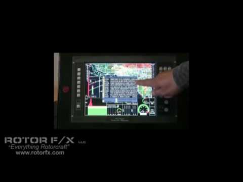 Odyssey Color EFIS Glass Panel (Part 1 of 2) by MGL Avionics from ROTOR F/X Video