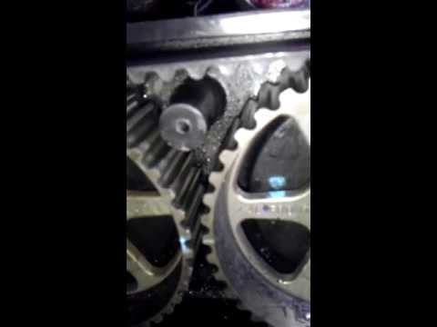 2006 pt Cruiser Timing belt installation 2.4