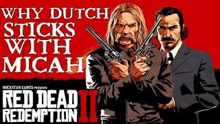 Red Dead Redemption 2   How Micah met and saved Dutch life