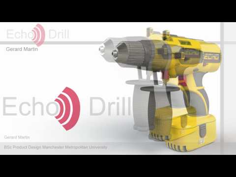 2010 James Dyson Award - Echo Drill