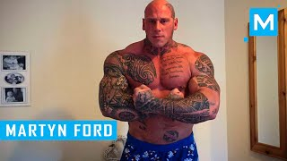 Martyn Ford Training for Undisputed IV:Boyka | Muscle Madness