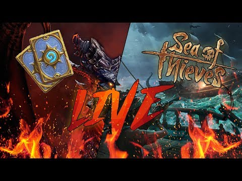 LIVE | Hearthstone, Insidia e SEA OF THIEVES con IL DUCA!