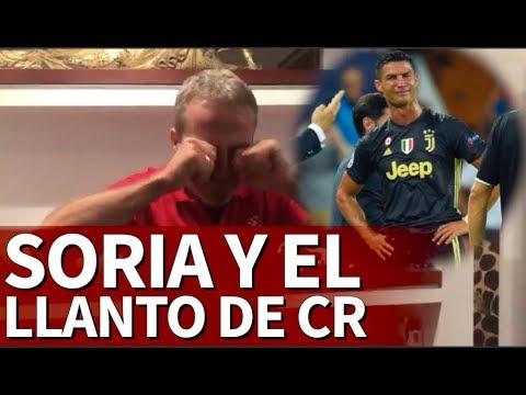 La burla de Soria tras la roja y el llanto de Cristiano | Diario As