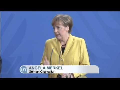Poroshenko Meets Merkel in Berlin: Ukrainian president calls for tougher sanctions on Russia