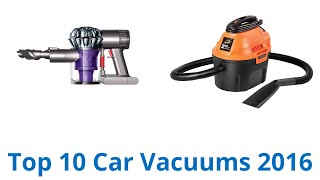 10 Best Car Vacuums 2016
