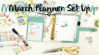 March Planner Set-Cocoa Daisy Planner Kit | OhSoFawn