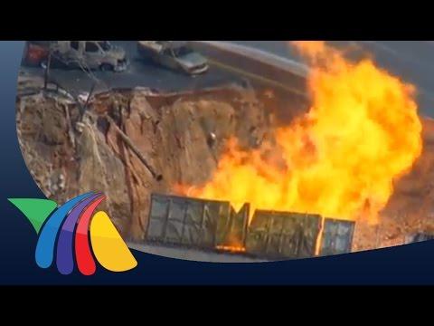 Estallido truena ducto de gas en San Pedro, NL | Noticias de Nuevo Léon