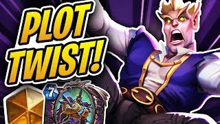 THIS AUTO COMPLETE DECK GOT ME TO LEGEND?! | Plot Twist Warlock | Rise of Shadows | Hearthstone