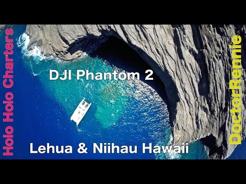 Lehua & Niihau Hawaii Beach -  drone travel video
