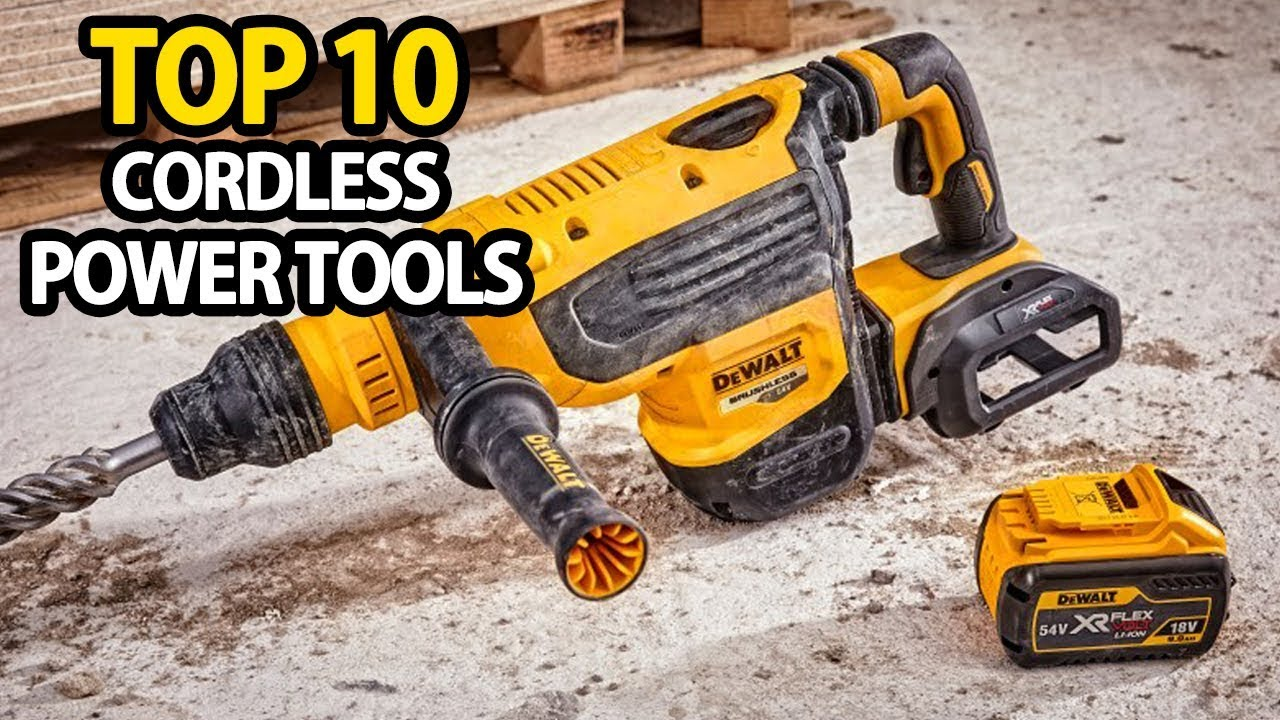 Top 10 Cordless Power Tools For Your Jobsite 2019 | My Deal Buddy