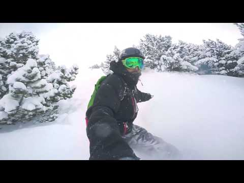 Pyrenees Snowboarding with Original Skateboards Team Rider Aleix Gallimo