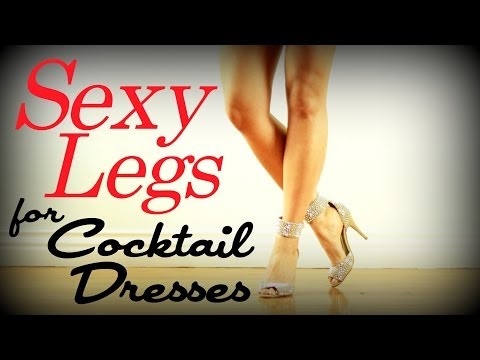 Sexy Sculpted Legs Workout | Cocktail Dress Series video