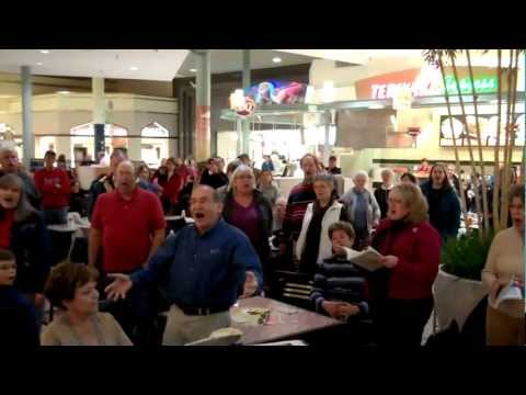 Hallelujah Flash Mob by Sioux Falls Seminary Choir