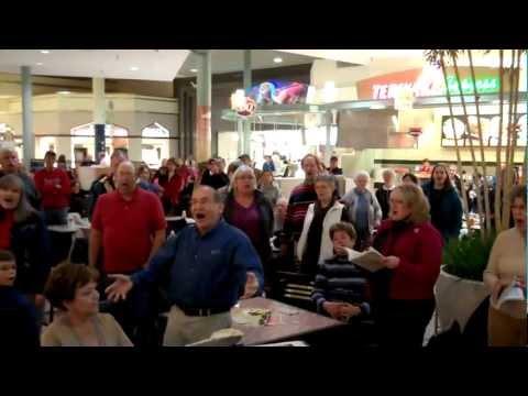 Hallelujah Flash Mob by Sioux Falls Seminary Choir