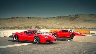 Forza 6: Ferrari 488 GTB vs Ferrari 458 Speciale | Drag Race
