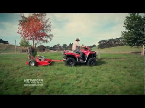 Tow and Mow   ATV Tow Behind Slasher Mower & Topper