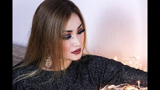 GRWM: Night OUT BLUE SMOKEY , OUTFIT+HAIR | 4K