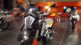 Le salon de la moto de Bruxelles au complet