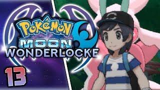 A TOUGH BATTLE WITH THE TOTEM LURANTIS! Pokemon Moon Wonderlocke Part 13 w/ HDvee