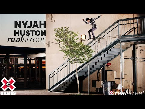 Nyjah Huston - X Games LA 2012 Real Street